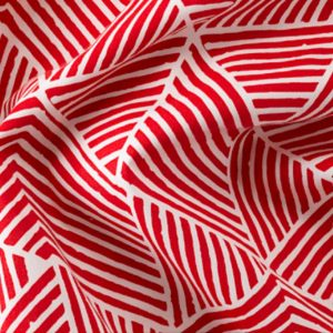 Red Zebra Pattern Backdrop