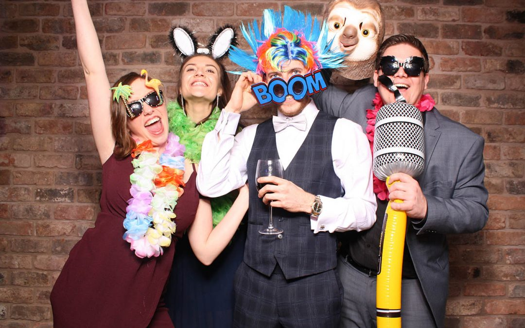 Wedding Photobooth at Pryors Hayes Golf Club