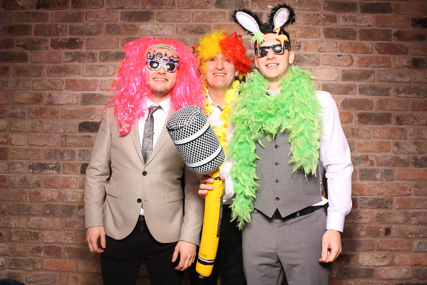 Open Air Photobooth At Cheshire Wedding