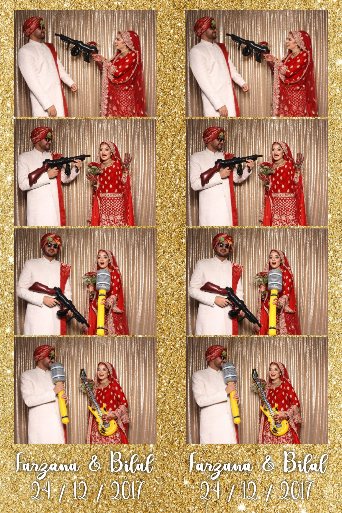Open Air Photobooth - Asian wedding in Manchester